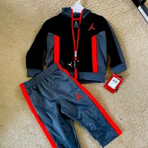 Air Jordan 18 months track suit, New with tags